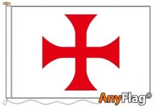 - KNIGHTS TEMPLAR RED CROSS ANYFLAG RANGE - VARIOUS SIZES